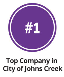 Ranked #1 in Johns Creek